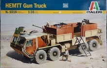 ITALERI 6510  1/35 Scale  M985 HEMTT Gun Truck Plastic Model Building Kit