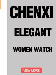 CHENXI Quartz Watches Women Clock Lady Square Leather Strap Waterproof Casual Fashion Women's Dress Watch Ladies Wristwatch