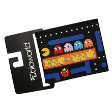 Short Video Game Anime Unisex Wallets Men PAC-MAN Image Purses Children Wallets Gifts Leather Wallets Money Photo Cards Bolso