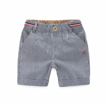 2017 New Arrival Fashion Striped Kids Boys Summer Shorts Children's Casual Pants 2-3-4-5-7-8 Years Age Baby Boy Summer Clothing(China)