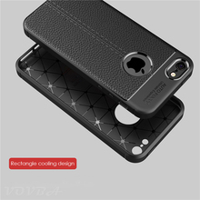 VOVTA Fitted Cases for iphone 5s 5 se case silicone black dirt-resistant cover for iphone se 5 5s case luxury Litchi Leather(China)