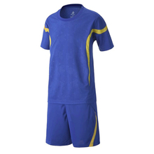 Survetement football 2017 boys soccer jerseys training suits bank print kids team football jerseys set kit short soccer uniforms