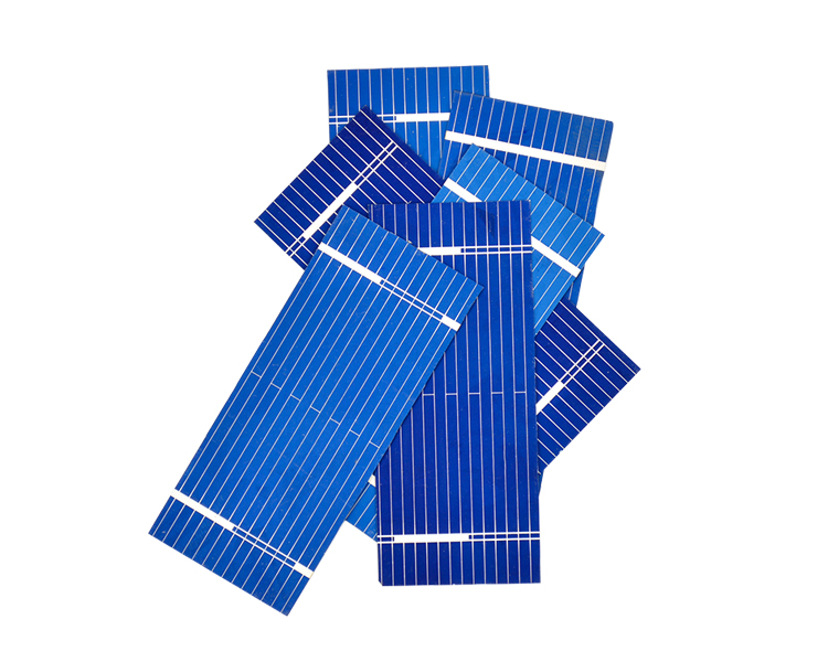 Aoshike 100pcs Mini Solar Panel 52 * 22mm Polycrystalline Silicon Solar panels 0.19w 0.5v/DIY Cell Phone Charging Battery 6