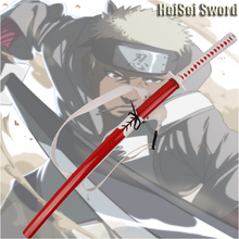 Anime Naruto Cosplay Katana Omoi Real Sword Japanese Ninja Katana Carbon Steel Sharp Edge(China)