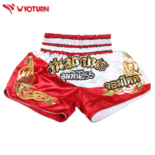 Men martial arts MMA Shorts Fighting trunks kickBoxing Grappling professional Muay Thai Short pants Boxing training pant