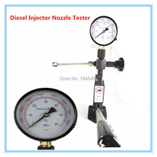 free shipping! CRS pump injector nozzle tester best quality common rail nozzle testing device pressure injector tool
