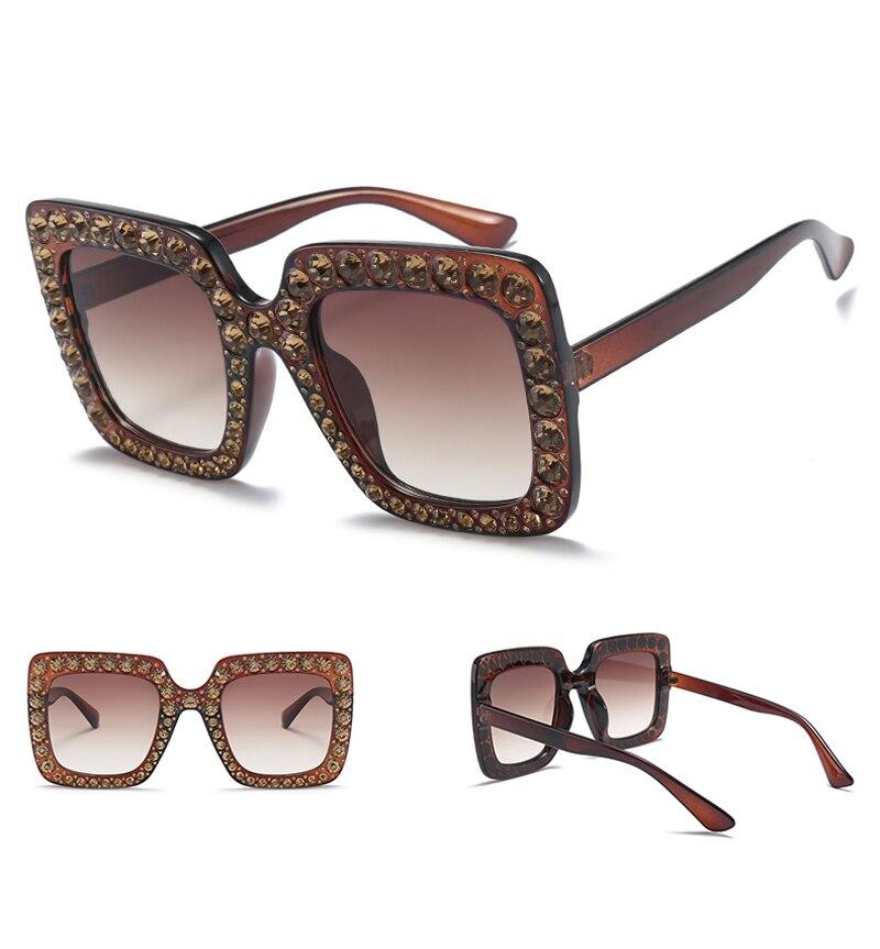rhinestone sun glasses for women luxury brand 7080 details (5)