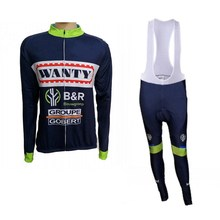 Buy winter fleece 2017 pro team wanty mens Cycling jerseys long sleeve warmer bike clothing MTB Ropa Ciclismo Bicycle maillot for $37.71 in AliExpress store