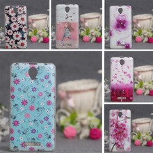 Newest Luxury 3D Relief Printing Case for Lenovo A5000 Phone Case Soft TPU Cases Cover For Lenovo A5000 A 5000 Silicon Covers