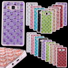 Diamond Case for Samsung Galaxy A3 A5 A7 2016 J5 J7 Grand Prime S5 S6 S7 Edge 3D Jewelry Glitter Bling Soft TPU Phone Back Cover