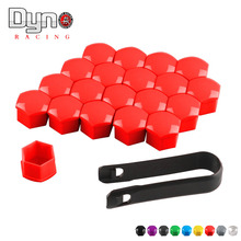 20pcs plastic Hexagonsal Car Wheel Lug Nut Bolt Cover Protective Tyre Valve Screw Cap Antirust Nut Caps Bolt Rims