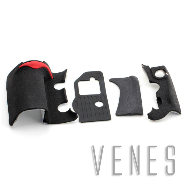 Body Front Back Bottom Rubber Cover Replacement Part Suit For Nikon D300 Digital Camera Repair
