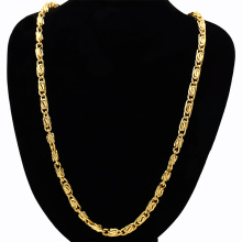 NEW Dope Jewelry iced out hip hop mens shoe-shaped gold ingot chain