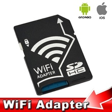 Portable Wireless Wifi SD Card Micro SD TF Adapter Converter for Nikon Cameras Photos Wirelessly to Phone Tablets