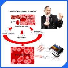 Laser Blood Cleaner soft laser therapy device medical infrared laser therapy device