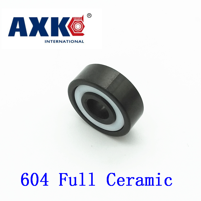 Rodamientos Rolamentos Axk 605 Full Ceramic Bearing ( 1 Pc ) 5*14*5 Mm Si3n4 Material 605ce All Silicon Nitride Ball Bearings<br>