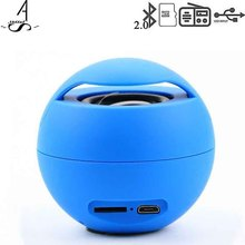 Ahssuf Portable Bluetooth Speaker Wireless FM radio Outdoor TF Card bass Mini Ball Speaker Consumer Electronics for Mobile Phone(China)