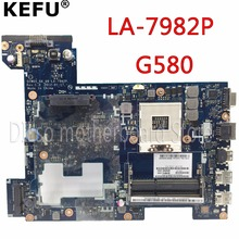 Buy KEFU LA-7982P motherboard Lenovo original G580 laptop Motherboard QIWG5 LA-7982P Rev:1.0 Notebook tested motherboard GM for $65.00 in AliExpress store