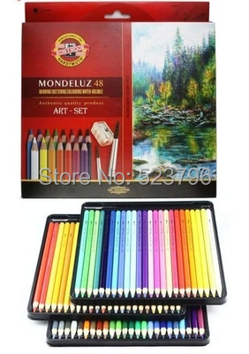 Koh-i-noor Mondeluz Aquarell Drawing Set. 72 Colored Pencils Water Color Pencils<br><br>Aliexpress