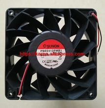 New Original SUNON 12CM PSD2412PMB1 24V 19.5W 2WIRE server inverter axial Cooling Fans120*120*38MM(China)