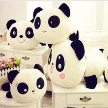 25cm Giant Panda Pillow Mini Plush Toys Stuffed Animal Toy Doll Pillow Plush Bolster Doll Valentine's Day Gift(China)