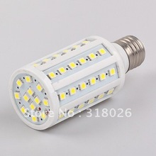 E27 LED CORN BULB AC110-230V 12W 60 LED 5050SMD Commercial Engineering Indoor Professional Sailing 5pcs/lot(Hong Kong)