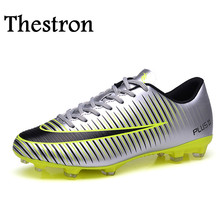 Thestron Men Football Shoes Firm Ground Football Shoes Boys fg Original Soccer Cleats New Cool Football Cleats Boots
