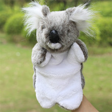 Puppet toy Baby cute Plush toys koala Hand puppet Doll Infant Toddler tell story education Toy for children TO200(China)