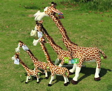 75cm Madagascar giraffe plush toy lovely doll gift w4521