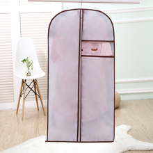 2017 Real New Clothes Protector Case Apparel Suits Dust Cover Organization Storage Bag Garment Wardrobe Coat Bags Organizador