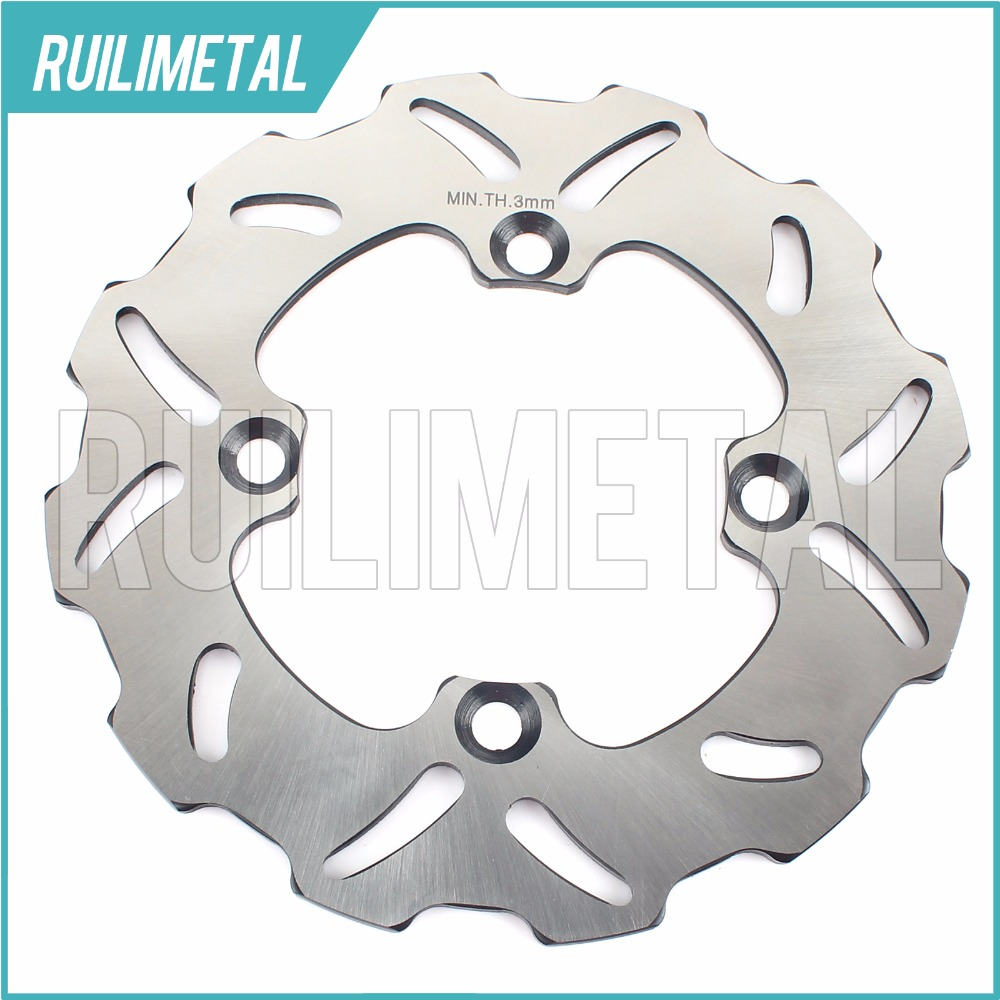 Rear Brake Disc Rotor for kawasaki KX80 KX85 KX100 KX 80 85 100 2005 2006 2007 2008 2009 2010 2011 2012 2013 2014 2015 2016(China (Mainland))