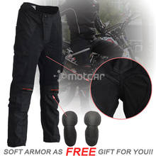 Black Men's Motorcycle Pants Armor Jeans Motocross KTM Protection Racing Pants Motorcycle Trousers Knee Protective Sportswear