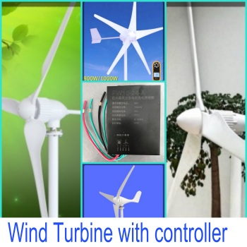 wind turbine with charge controller 2_Fotor