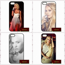 USA Carrie Underwood Cover case for iphone 4 4s 5 5s 5c 6 6s plus samsung galaxy S3 S4 mini S5 S6 Note 2 3 4   UJ0401