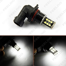 10Pcs 12V DC Car/Truck 9006 15SMD 2835-Chip Led Fog Light Headlight Lamp Bulbs White #FD-3110(China)
