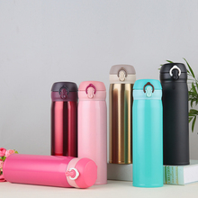 Quality Termos 500Ml Stainless Steel Bottle Vacuum Flasks Garrafa Termica Infantil My Bottle Thermo Coffee(China)