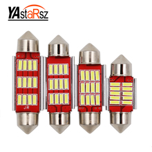 Buy 4pcs 31mm 36mm 39mm 41mm C5W 4014 LED CANBUS error car radiator indoor LED lights automatic map roof reading light bulb for $1.99 in AliExpress store