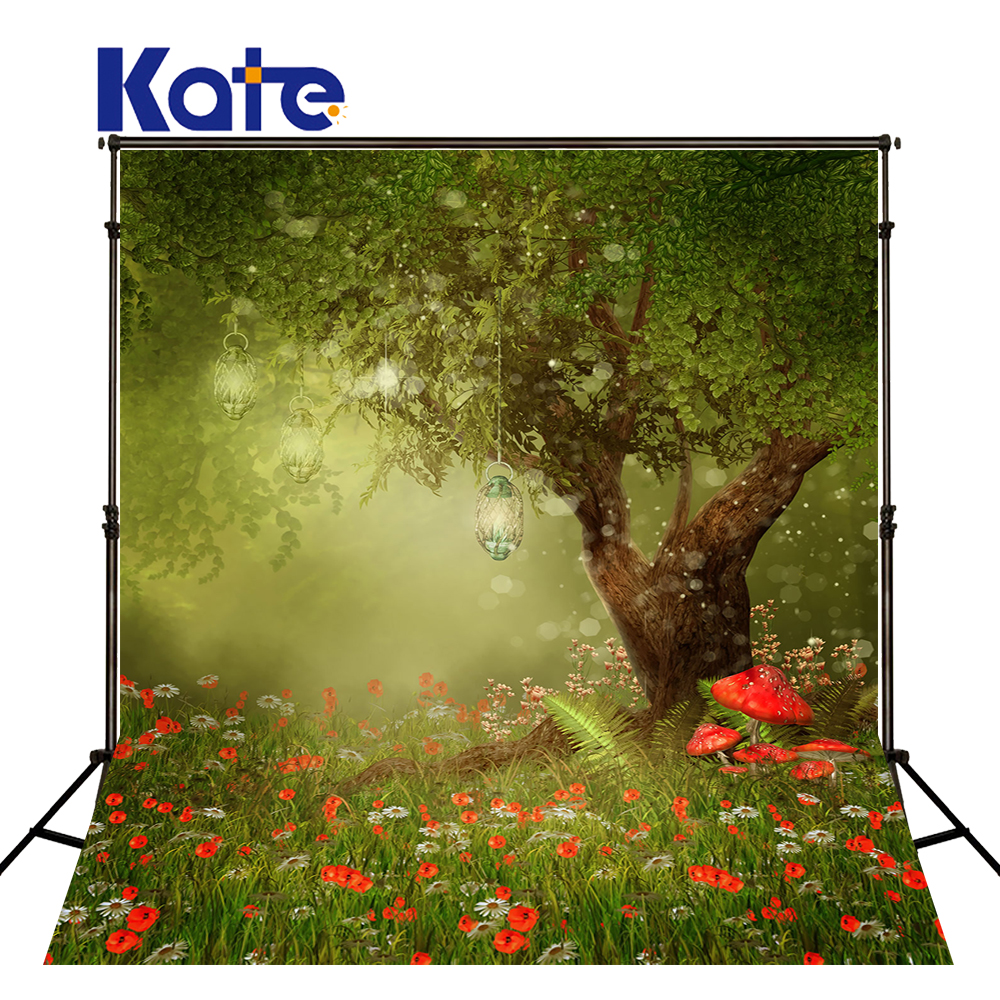 Kate Children Photo Background Forest Background Fairy Tale World Cartoon Photo for Children Photos studio shoot<br>