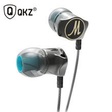Genuine Earphones QKZ DM7 Special Edition Gold Plated Housing Headset Noise Isolating HiFi Earphone auriculares fone de ouvido(China)