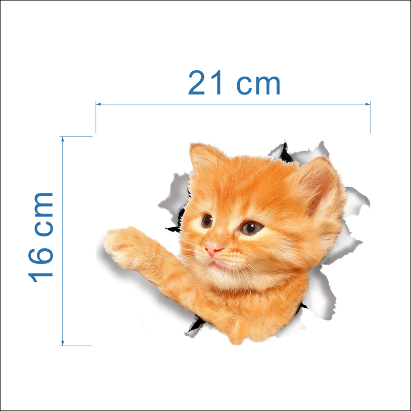 HTB1ORNcXVooBKNjSZPhq6A2CXXaF - Hole View Vivid Cats Dog 3D Wall Sticker Bathroom Toilet Living Room Kitchen Decoration Animal Vinyl Decals Art Sticker Poster