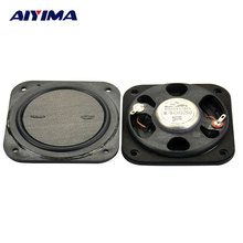 AIYIMA 2pcs Full Range Speaker 3 inch 8 ohm 15 W Flat Neodymium Speaker for Home Theater Speakers LCD TV Advertising Machine