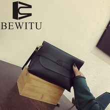 BEWITU casual clutch bag 2017 autumn new Korean version of the small square package Korean casual fashion ladies hand bag