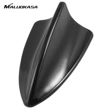 MALUOKASA Auto Car Universal Shark Fin Roof Decorative Antenna Aerial For BMW/Honda/Toyota/Hyundai/VW/Kia/Nissan Car Decoration