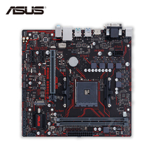 Asus PRIME B350M-E Desktop Motherboard AMD B350 Socket AM4 AMD Ryzen DDR4 64G SATA3 USB3.1 Micro-ATX Second-hand High Quality(China)