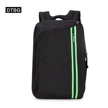 "KINGSONS's brand DTBG multifunctional waterproof bag with double shoulder bag for Apple computer 15.6"" 14""notbook  free shipping"