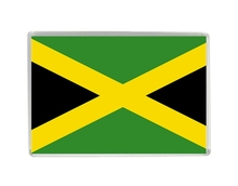Jamaica Flag Quality Acrylic Fridge Magnets Exquisite World Tourism Souvenirs Refrigerator Magnetic Stickers Collection(China)