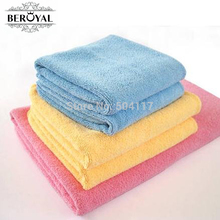 New 2017 -- 4PC/Set   Microfiber Kitchen Towel Home Dishcloth Cooking Tools Floor Cleaning Cloth Glasses Rag  Towel Set