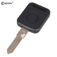 KEYYOU 10X Replacement Transponder Key Case Blank Cover Car Key Shell For VW Volkswagen Jetta Free Shipping