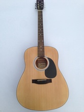 good quality full size folk guitar acoustic guitar(China)