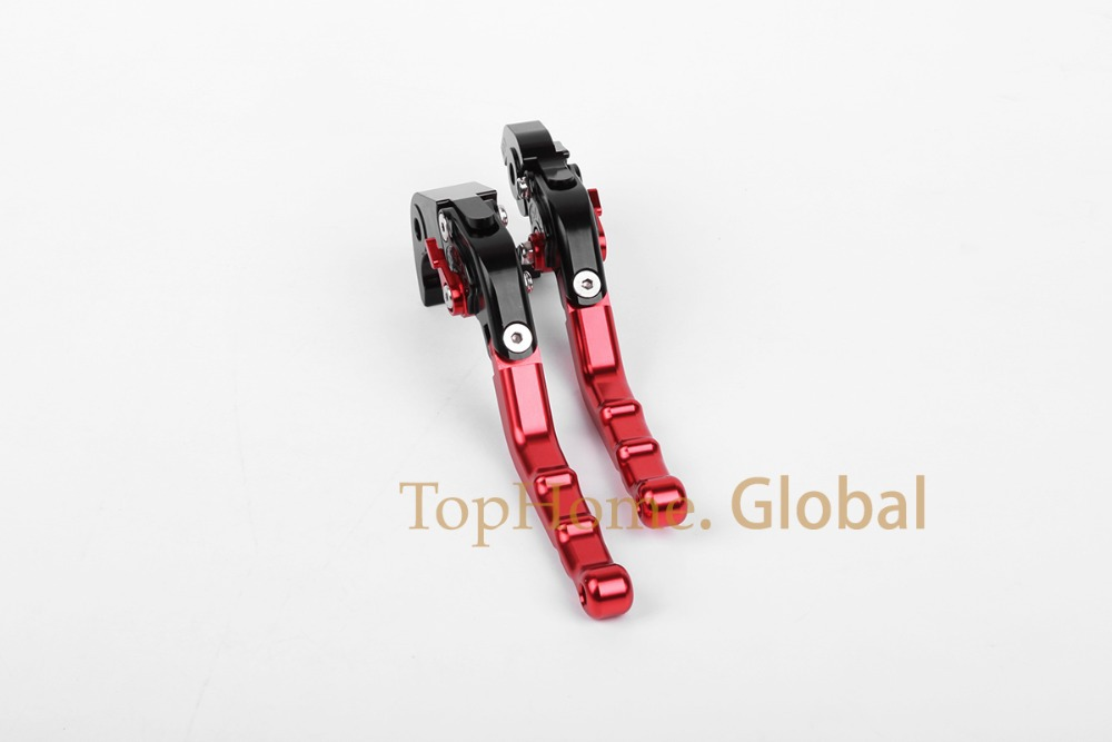 Top quality CNC Foldable Folding Fingers Wave Brake Clutch Levers For Suzuki HAYABUSA/GSXR1300 2008-2014 2009 2010 2011Red&amp;Black<br><br>Aliexpress